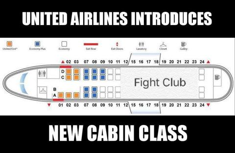 United Airlines Fight Club