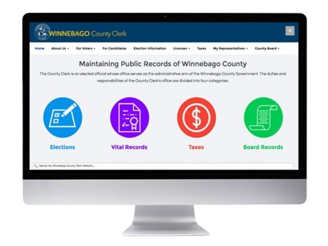 KMK Media Develops, Launches New Winnebago County Clerk Site